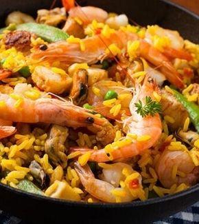 Deliciosa Receta Para Preparar Paella De Marisco Axion Tu Hogar México